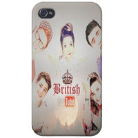 British Youtubers iPhone 4/4s/5 & iPod 4 Case