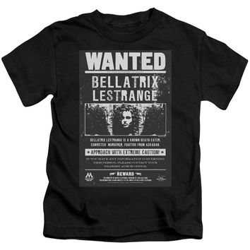 Harry Potter - Wanted Bellatrix Short Sleeve Juvenile 18/1 Shirt Officially Licensed T-Shirt
