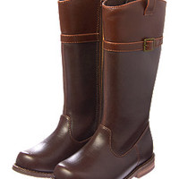 Two-Tone Riding Boots