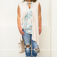 Creamy Lace Cardigan | Plus