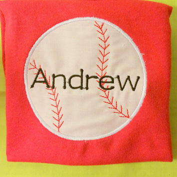 Baseball Shirt for Toddlers and Kids- Toddler Baseball Shirt- Kids Baseball Shirt- Baseball Birthday Gift