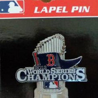 MLB Baseball Champions Red Sox World Series Lapel Pin 2013