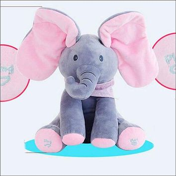 Peekaboo Elephant, Electric Blinking with Concert Singing