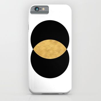 VESICA PISCES CIRCLE ABSTRACT GEOMETRIC SYMBOL iPhone & iPod Case by deificus Art