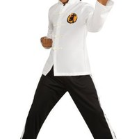 Rubies Costume Co Deluxe the Karate Kid Karate Costume-Multicoloured-L