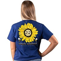 Sunflower - Bee Happy, Bee Kind, Bee You - SS -  S20 - Adult T-Shirt