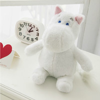 "1 Piece 9.8"" Cartoon Movie Moomin Plush Animal Toys Soft Stuffed Animal Plush Hippo Toys Promotional Toy Chrismas gift for kids"