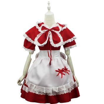 LOL Annie The Dark Child Cosplay Costume Anime Kawaii Lolita Halloween Party Dresses New