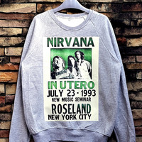Nirvana Sweatshirt Crewneck Sweater Unisex