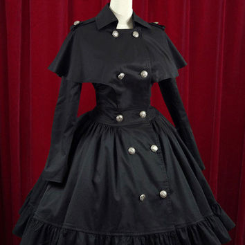 Victorian Style Over Coat