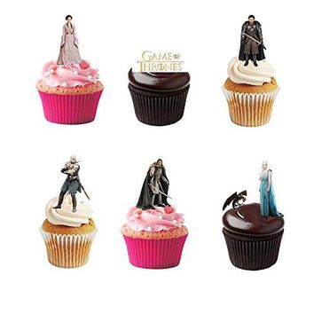 Game of Thrones Edible Cupcake Toppers