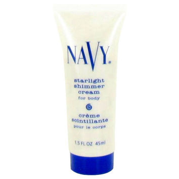 Navy Starlight Shimmer Body Cream By Dana