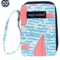 Simply Southern Sailboat Wallet with Monogram