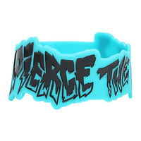Pierce The Veil Die-Cut Logo Rubber Bracelet