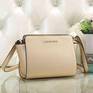 Michael Kors MK Women Fashion Leather Crossbody Satchel Shoulder Bag