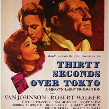 Thirty Seconds Over Tokyo 11x17 Movie Poster (1944)