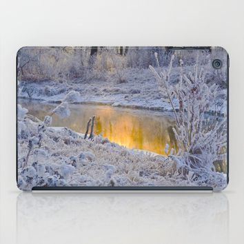 It's Gold Outside iPad Case by Mixed Imagery