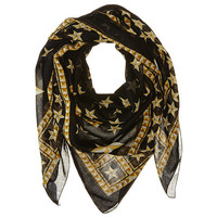 Givenchy Stars Cotton Scarf