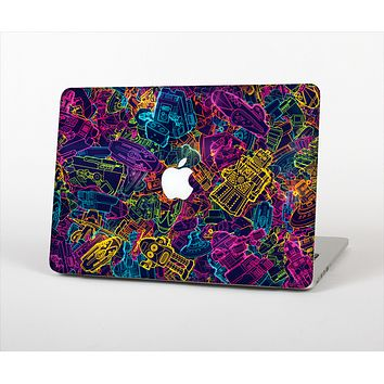 The Neon Robots Skin Set for the Apple MacBook Air 13""