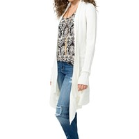 Cascading Sweater Cardigan
