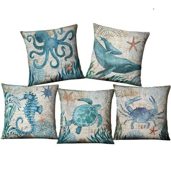 Nautical Themed Pillow Covers