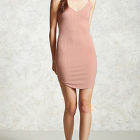 Ribbed Dolphin Hem Cami Dress - Women - New Arrivals - 2000322467 - Forever 21 Canada English