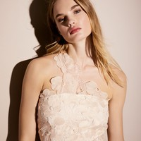 Free People Malia Organza One Shoulder Mini