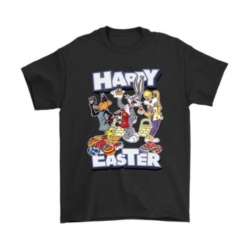 ESBV4S Bugs Bunny With Friends Happy Easter Looney Tunes Cartoons Shirts