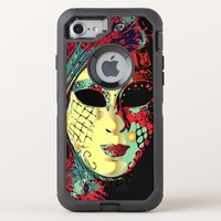 Venetian Lady Mask OtterBox Defender iPhone 8/7 Case