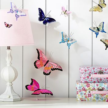 Jenni Kayne Feather Butterfly Stick Ons | Pottery Barn Kids