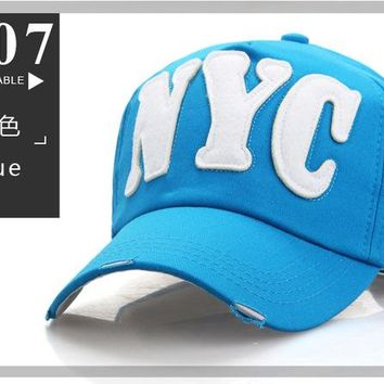 Sports Hat Cap trendy  fashion outdoor sports baseball cap snapback men women star hat casual adjustable letter sun hat cotton dad caps B-001 KO_16_1