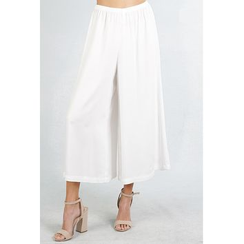 Love Stitch Wide Leg Pants