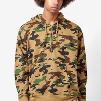OBEY Ennet Camouflage Anorak Half Zip Hoodie at PacSun.com
