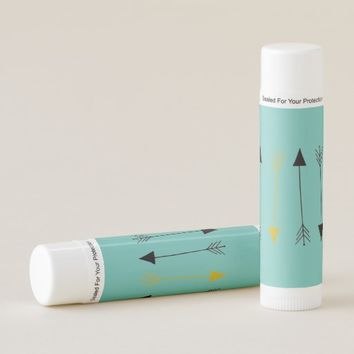 Turquoise Arrows Lip Balm