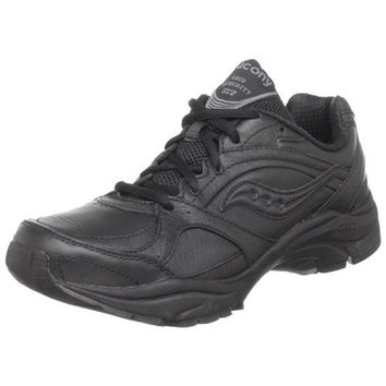 Saucony Womens Pregrid Integrity ST2 Leather Solid Walking Shoes