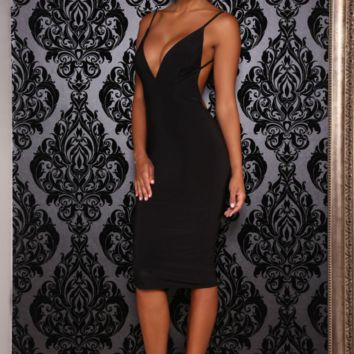 Kylie dress (black)