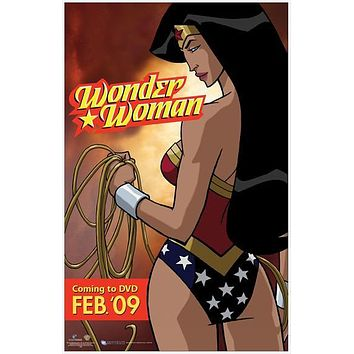 Wonder Woman 11x17 Movie Poster (2009)