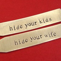 Hide Your Kids/Wife Collar Stays | Spiffing Jewelry
