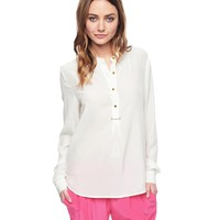 Silk Top W/ Hardware by Juicy Couture