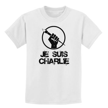 Je Suis Charlie Childrens T-Shirt