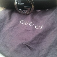Men's Gucci Belt Black