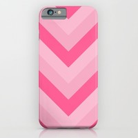 v lines - rose iPhone & iPod Case by Her Art