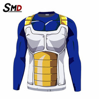 Men's Fashion Dragon Ball T Shirt for men 3d Vegeta Goku Super Saiyan Design Top Gym t-shirt Dragon ball z Costume Funny tshirt