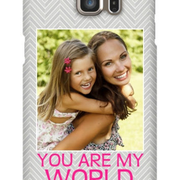 You Are My World Photo Galaxy S6 Edge Plus Slim Case