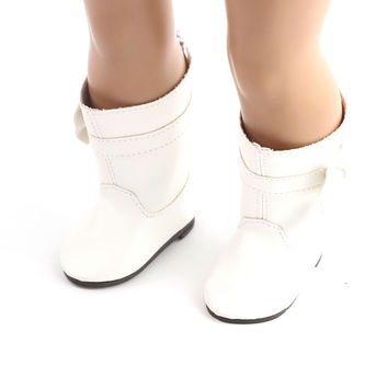 "Free shipping Hot 2016 new style popular ""18 inch heels 899 American girl doll shoes leathershoes b586"