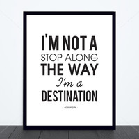 GOSSIP GIRL Destination Print