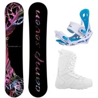 Camp Seven Featherlite Women's Complete Snowboard Package 2017
