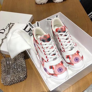 New Dior Women Fashion Casual Sneakers Sports Shoes