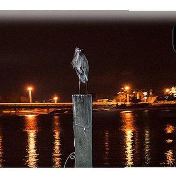 Blue Heron Night - Phone Case
