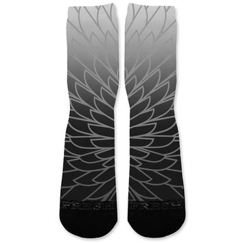Wings 2 Custom Athletic Fresh Socks